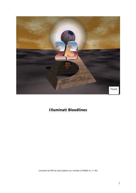 Fritz Springmeier Bloodlines Of The Illuminati
