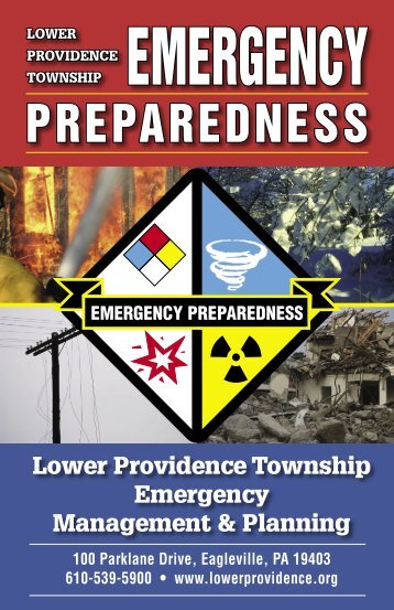 Lower Providence Township Emergency Preparedness Guide