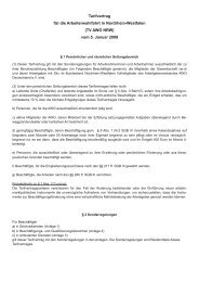 Tarifwerk AWO NRW - Arbeitgeberverband AWO Deutschland eV