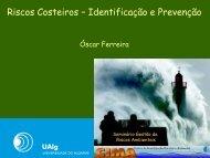 Riscos Costeiros – Identificação e Prevenção - Eventos