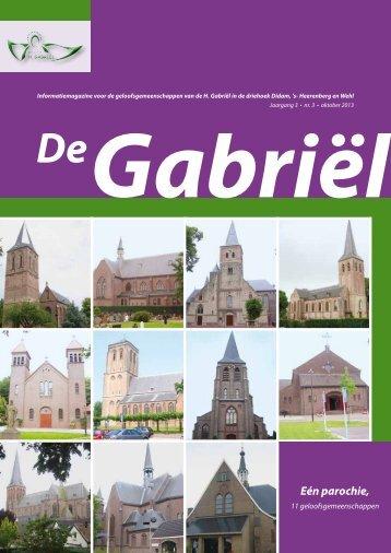 2013-3 - Parochie H. Gabriël