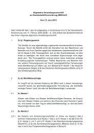Verwaltungsvorschriften zur Beihilfeverordnung des Bundes (BBhV)