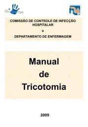 Manual de Tricotomia - Hospital Universitário – USP