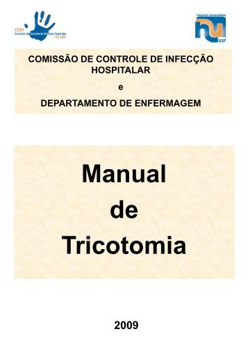 Manual de Tricotomia - Hospital Universitário – USP