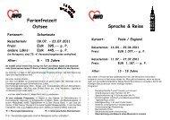 23.07.2011 Preis: EUR 395,-- p. P. andere Ldkrs - AWO ...