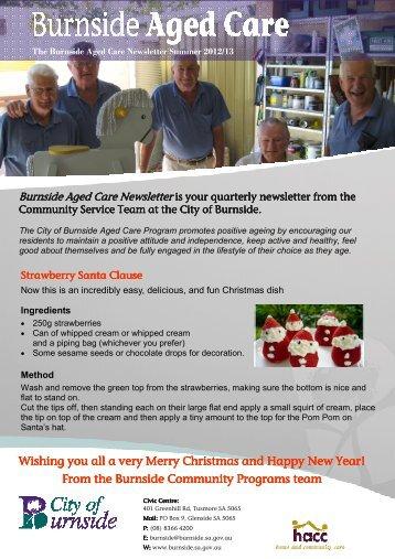 Summer Newsletter 2012.pub - City of Burnside - SA.Gov.au