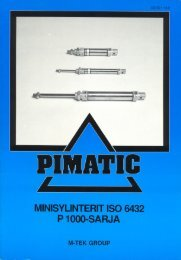 Minisylinterit - PMC Group