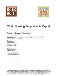 World Housing Encyclopedia Report - Earthquake Engineering ...
