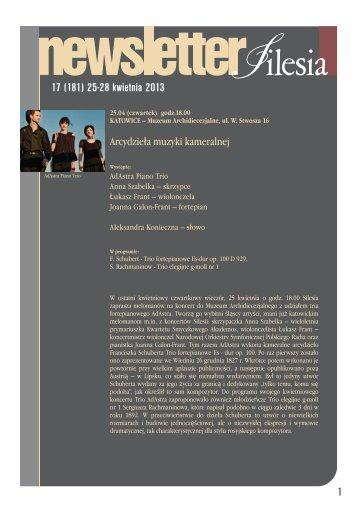 17 (181) 25-28 kwietnia 2013 1 - Silesia