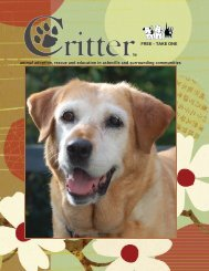 ALL PAGES-SEPT 2013 - Critter Magazine