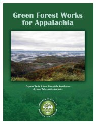 Green Forest Works for Appalachia - American Bird Conservancy