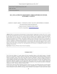 oil and gas process monitoring throughwireless sensor networks