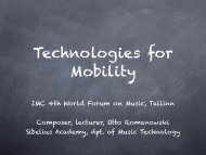 iPad IMC-WFM 2011