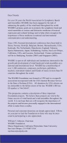 Information - World Association for Symphonic Bands and Ensembles - Page 2