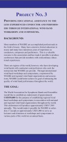 Information - World Association for Symphonic Bands and Ensembles - Page 5