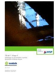 TB del 1, bilaga 4 - Swedavia