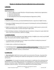 Chapter 2B: Homebuyer Program Application Instructions and Forms