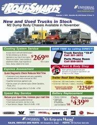 November 1, 2010 - Universal Truck & Trailer
