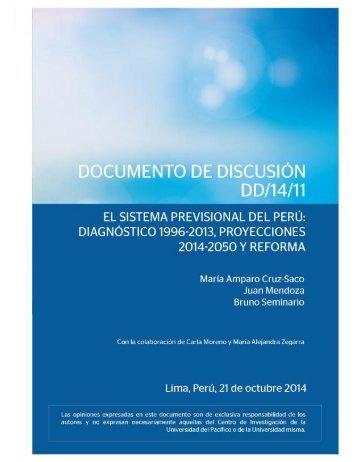 El sistema Previsional del Perú_ Diagnóstico, Proyecciones y Reforma (1)
