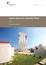 Holcim Romania Concrete Plants