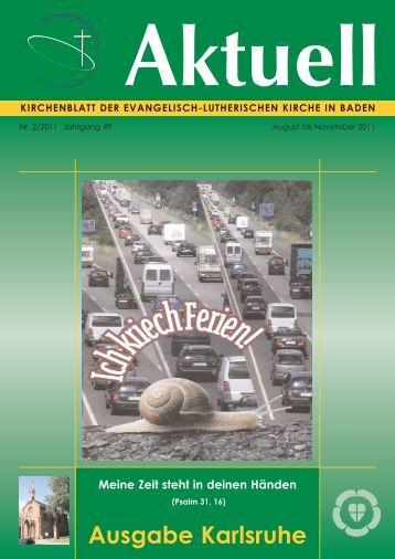 Kirchenblatt der Evangelisch-Lutherischen Kirche in Baden
