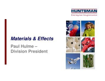 Materials & Effects