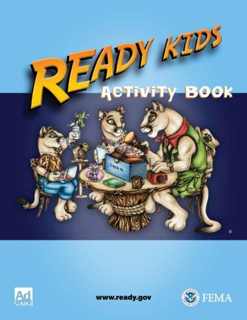 Ready Kids Activity Book - Ready.gov