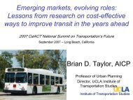 Lessons from research on cost-effective ways to improve ... - CalACT