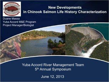 Presentation 6 Massa New Developments - Lower Yuba River Accord