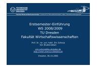 Prof. Dr. Schoop - phpweb.tu-dresden.de