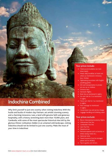 Indochina Combined - Emperor Tours