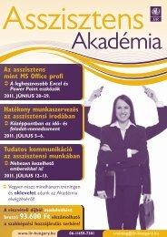 Asszisztens Akadémia - Konferenciakalauz