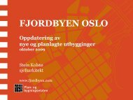Fjordbyen Oslo
