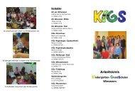 siehe Flyer - Grundschule am Ottermeer