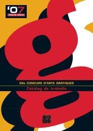 56è CONCURS D'ARTS GRÀFIQUES Catàleg de treballs '07
