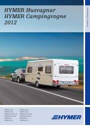 HYMER Husvagnar HYMER Campingvogne 2012