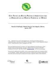 guía técnica de buenas prácticas ambientales para - Coastal ...