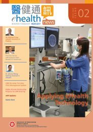 eHealth News Issue No 02 - Electronic Health Record Office