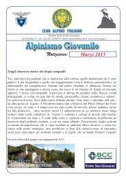 Marzo 2013.indd - CAI - sezione di Sesto San Giovanni