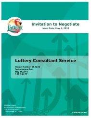 Lottery Consultant Service - NASPL