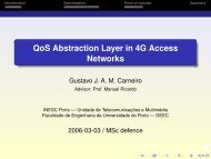 QoS Abstraction Layer in 4G Access Networks - Unidade de ...