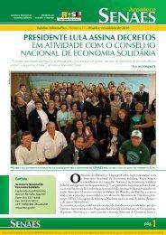 Acontece SENAES - 17ª edição - Ministério do Trabalho e Emprego