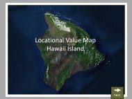Locational Value Map Hawaii Island - Heco.com
