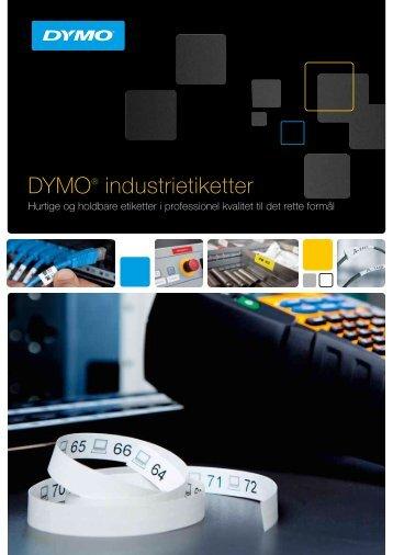 RHINO tape brochure - DYMO