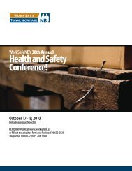 WorkSafeNB ConferenceProgramE:Layout 1