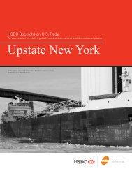 HSBC Spotlight on U.S. Trade: Upstate New York - HSBC Bank USA