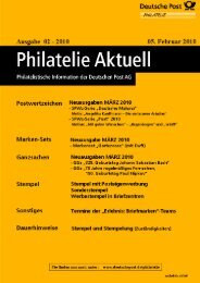 Stempel - Deutsche Post - Philatelie