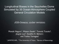 Longitudinal Biases in the Seychelles Dome Simulated by 35 Ocean ...