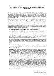 biodigestor de polietileno: construcción & diseño - CEDECAP