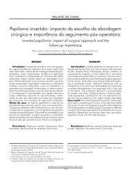 Papiloma invertido: impacto da escolha da abordagem ... - ABCCMF